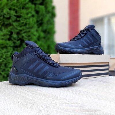 Зимние мужские Adidas Terrex Чёрные высокие, термо