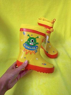 Детские резиновые сапоги Унисекс для девочки и мальчика