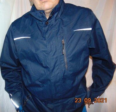 Стильная фирменная курточка деми ветровка с отражателями Weatherproof.хл