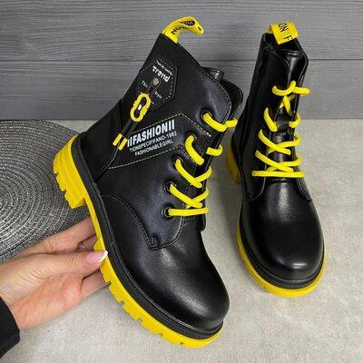 Продано: Демісезонні ботинки для дівчаток