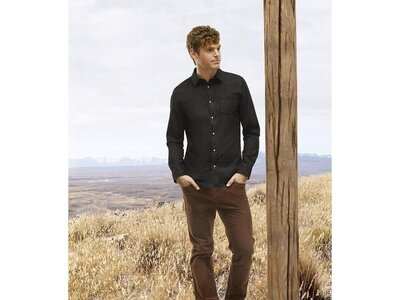 Продано: Мужская джинсовая рубашка Livergy Германия