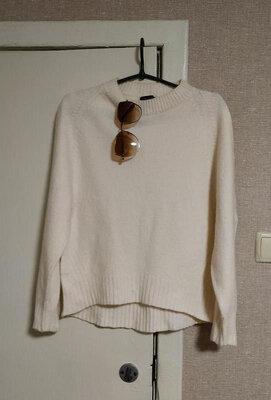 Продано: Massimo dutti замечательный асимметричный свитер свободного кроя из смесовой шерсти