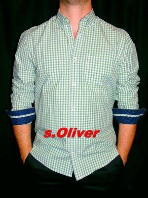 s. Oliver Шикарная брендовая рубашка - M - L