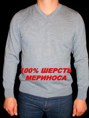 Продано: BERKELEY Шикарный серый джемпер - шерсть мериноса - S - M