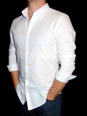 Продано: RIVER ISLAND Шикарная белая рубашка - S - M