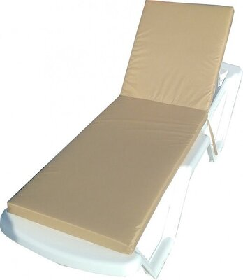 Продано: Матрас для шезлонга на лежак поролоновый 190х60х5 см. разные цвета