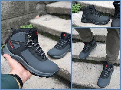 Мужские зимние кроссовки ботинки ультратеплые и водонепроницаемые MERELL