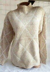 Нарядный зимний свитер с ромбами 44-46 в расцветках