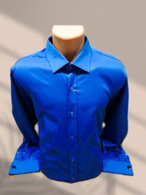 Продано: Рубашка с запонками makron англия р.xxl