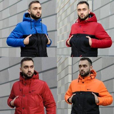 Мужская куртка парка Зима Nike Найк S-XXL