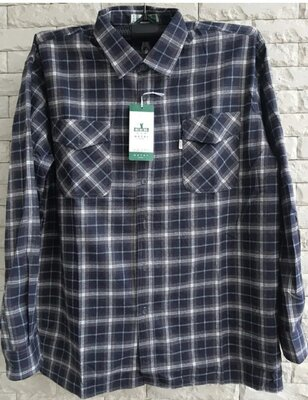 Рубашка фланель батал