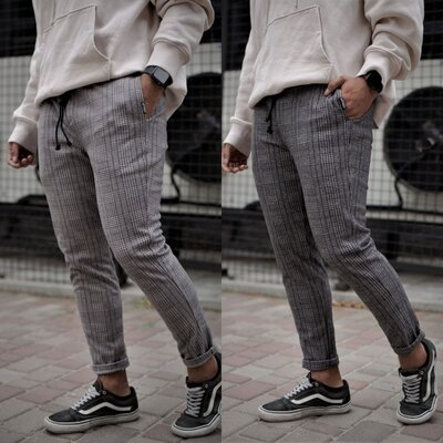 Мужские брюки Чинос Without Quattro Dark Gray Man S-XXL