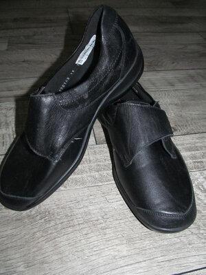 Продано: Кожаные туфли waldlaufer ortho tritt р. 40 -26см