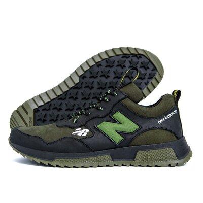Мужские кожаные кроссовки New Balance Oliva