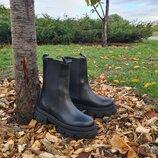 Женские высокие ботинки челси VITA Италия. Натуральная кожа. 35-40